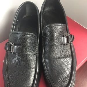 Salvatore Ferragamo muller leather loafers